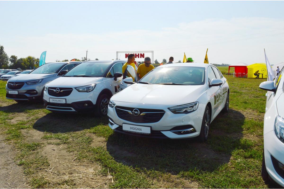 День поля разом з Opel