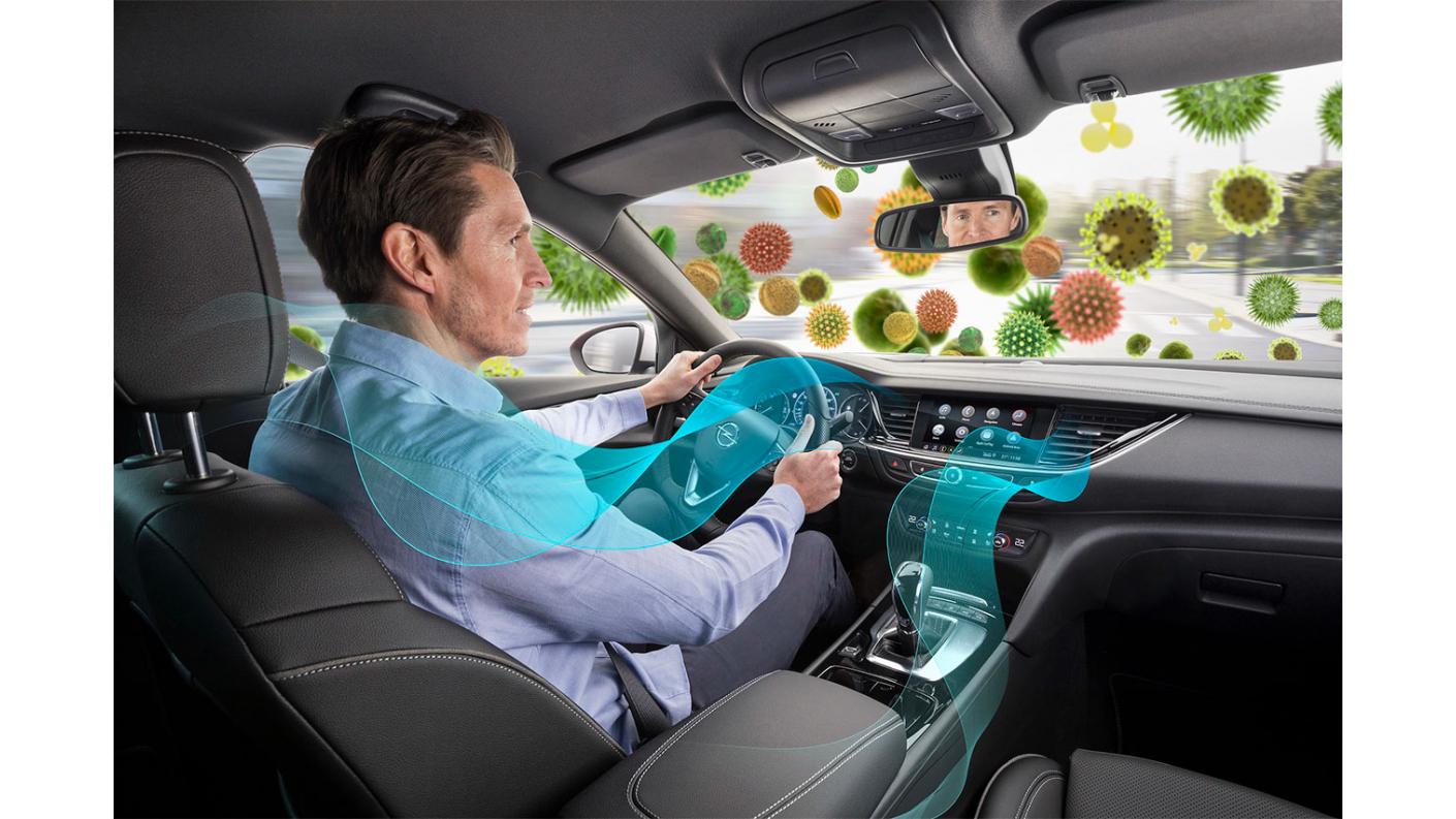 Зробіть глибокий вдох - завдяки фільтрам проти пилку в кожному новому автомобілі Opel