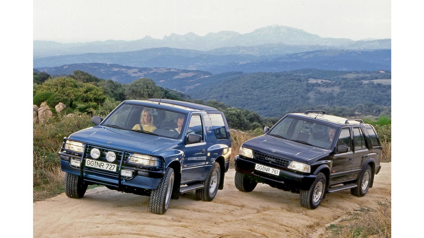 Трендсетер та бестселер: 30 років Opel Frontera
