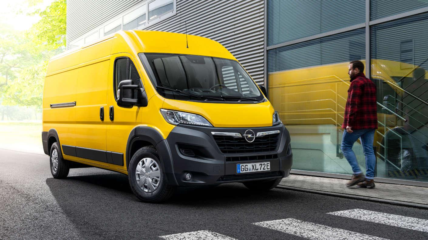 Нові фургони Opel Movano і Opel Movano-e підносять Бренд на вершину сегменту LCV
