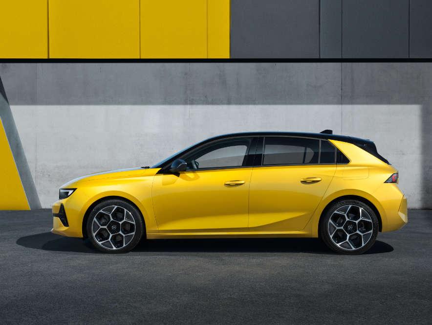 Opel Astra, зовнішній вигляд