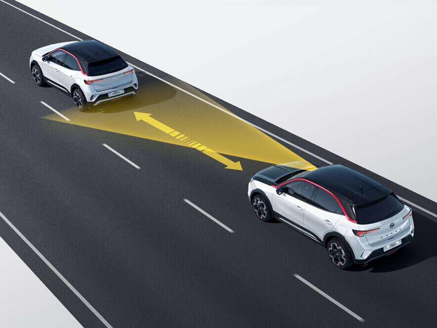 Opel, Mokka, автоматичний круїз-контроль