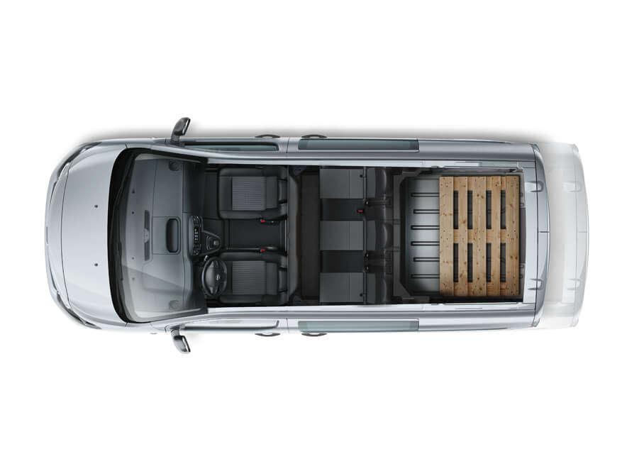 Opel, Vivaro, вантажопідйомність
